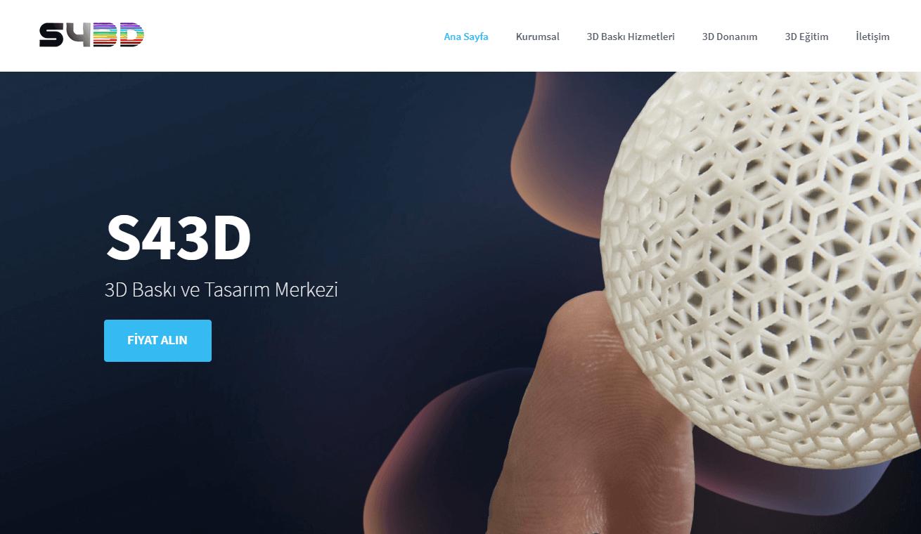 S43D - 3D Baskı Çözümleri